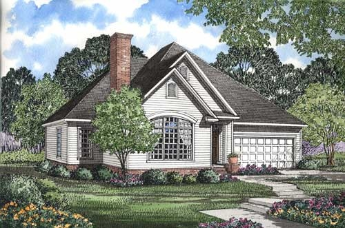 Traditional Style Floor Plans Plan: 12-1031