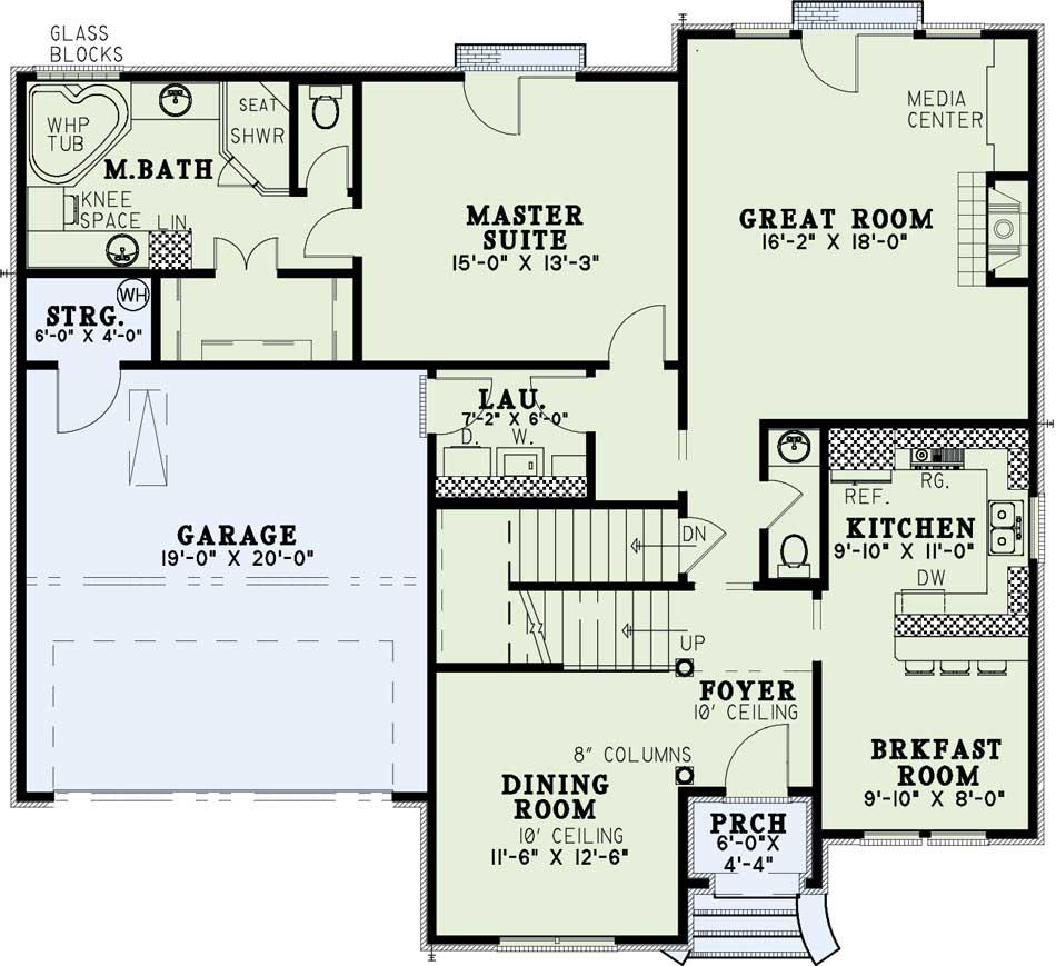 Main Floor Plan: 12-1034