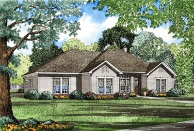 Traditional Style Home Design Plan: 12-1038