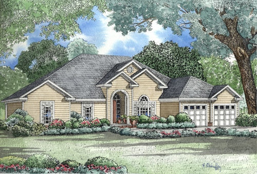 Traditional Style Floor Plans Plan: 12-1047