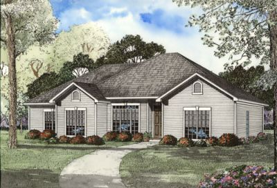 Traditional Style Floor Plans Plan: 12-1060