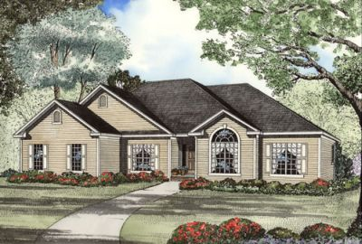 Traditional Style Floor Plans Plan: 12-1061