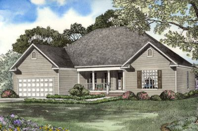Traditional Style Home Design Plan: 12-1062