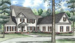 Southern Style Floor Plans Plan: 12-1067