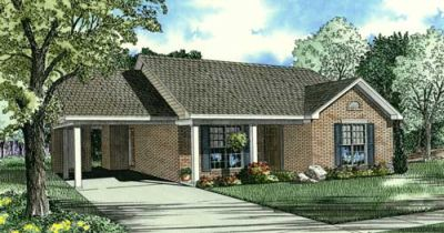 Traditional Style Floor Plans Plan: 12-1070