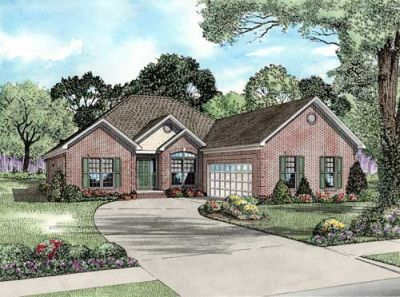 Traditional Style Floor Plans Plan: 12-1072