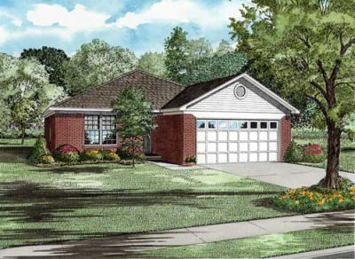 Traditional Style Home Design Plan: 12-1073