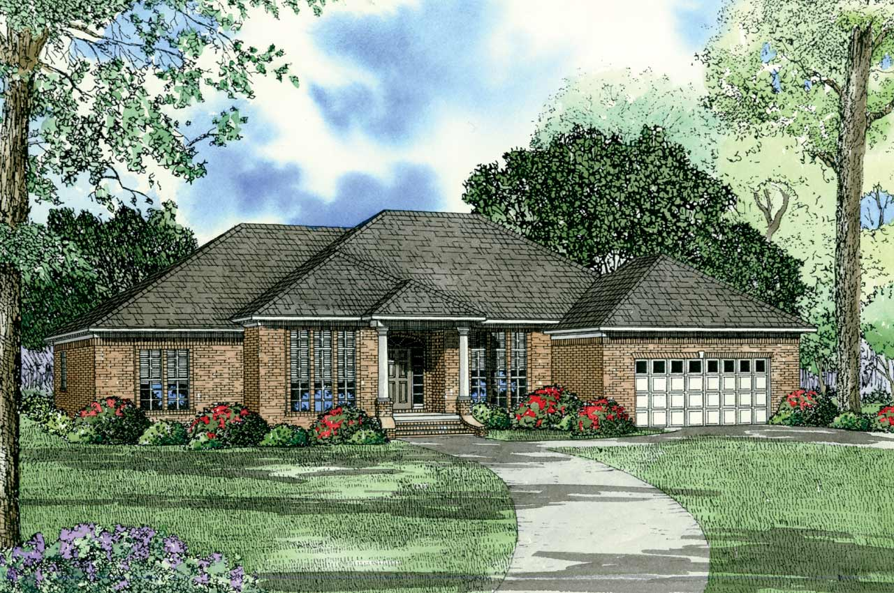 Traditional Style House Plans Plan: 12-108