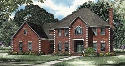 European Style House Plans Plan: 12-1085