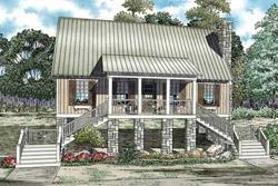 Bungalow Style Floor Plans Plan: 12-1091