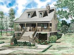 Country Style House Plans Plan: 12-1099