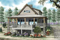 Cottage Style House Plans Plan: 12-1102