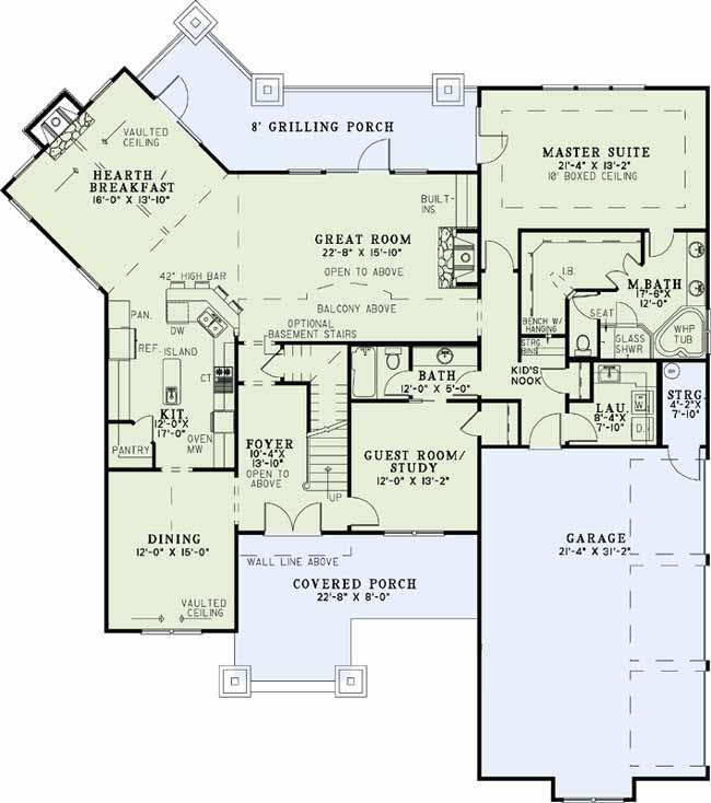 Main Floor Plan: 12-1111