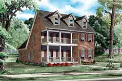 Southern Style House Plans Plan: 12-1118