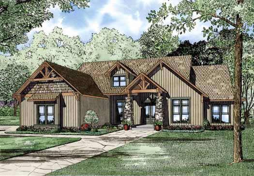 Craftsman Style House Plans Plan: 12-1128