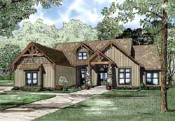 Craftsman Style Floor Plans Plan: 12-1128
