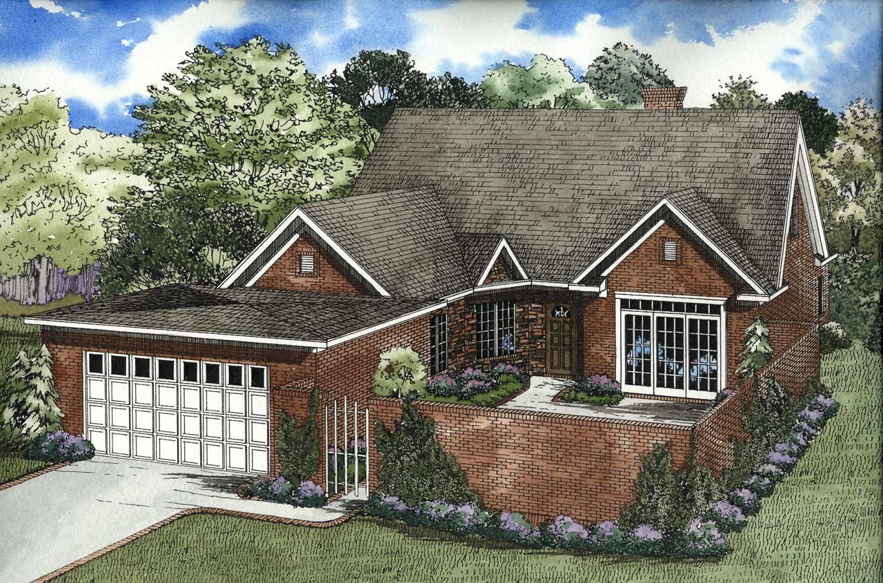 Traditional Style House Plans Plan: 12-116