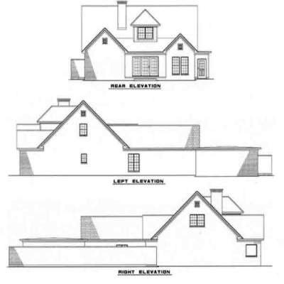 Rear Elevation Plan: 12-116