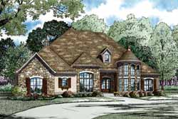 European Style Floor Plans Plan: 12-1160