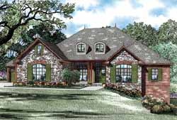 Luxury Style House Plans 12-1166