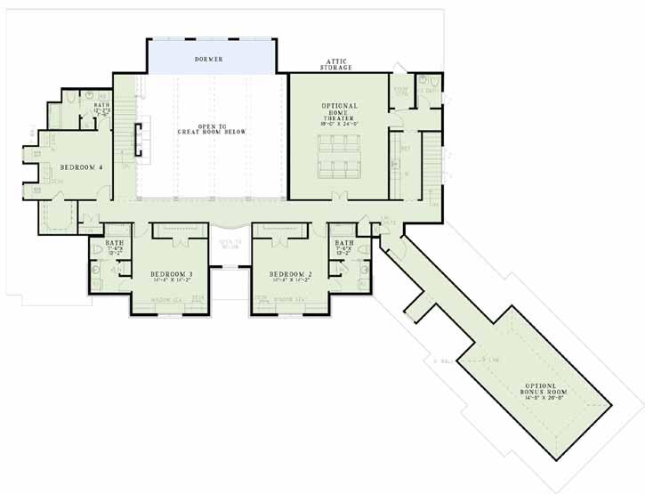 Upper/Second Floor Plan: 12-1169