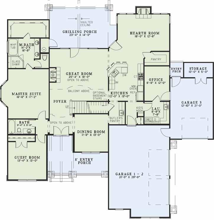 Main Floor Plan: 12-1171