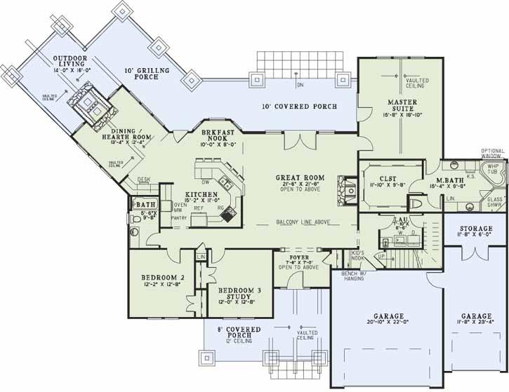 Main Floor Plan: 12-1172