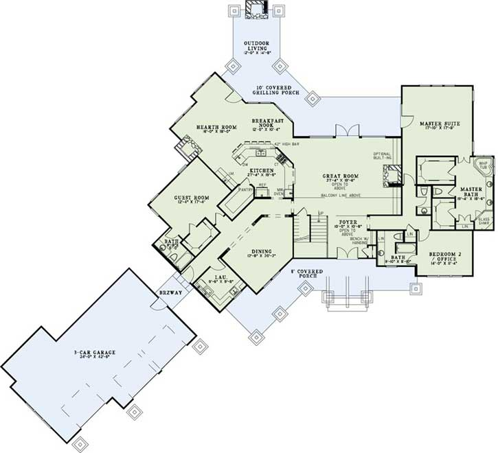 Main Floor Plan: 12-1174