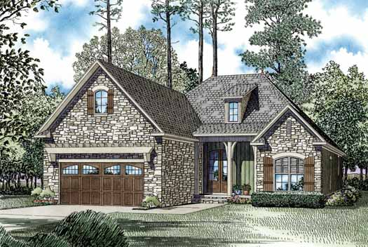 Traditional Style Home Design Plan: 12-1182