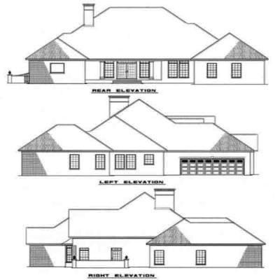 Rear Elevations Plan:12-119