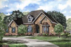 European Style Home Design 12-119