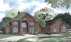 Traditional Style Floor Plans Plan: 12-1191