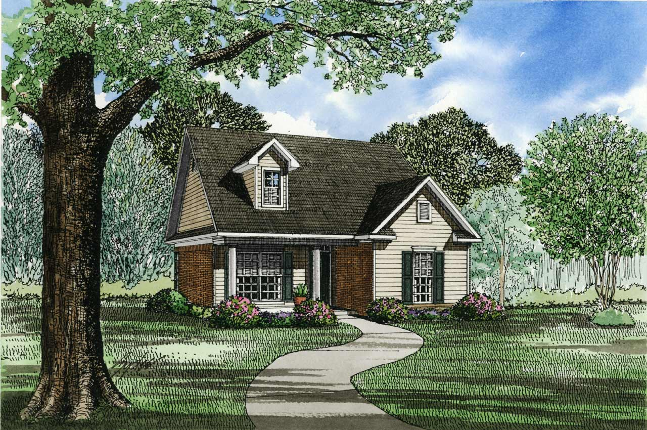 Southern Style House Plans Plan: 12-120