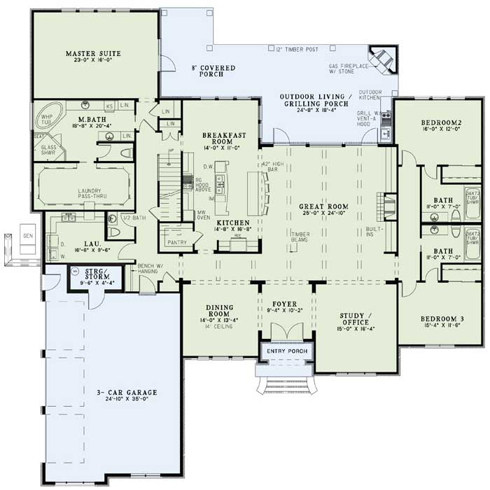Main Floor Plan: 12-1207