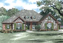 Country Style Floor Plans 12-1241