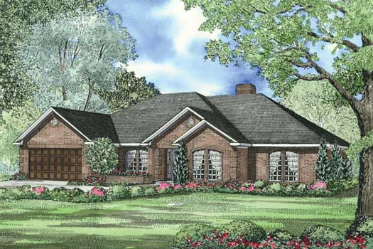 Traditional Style Floor Plans Plan: 12-1244