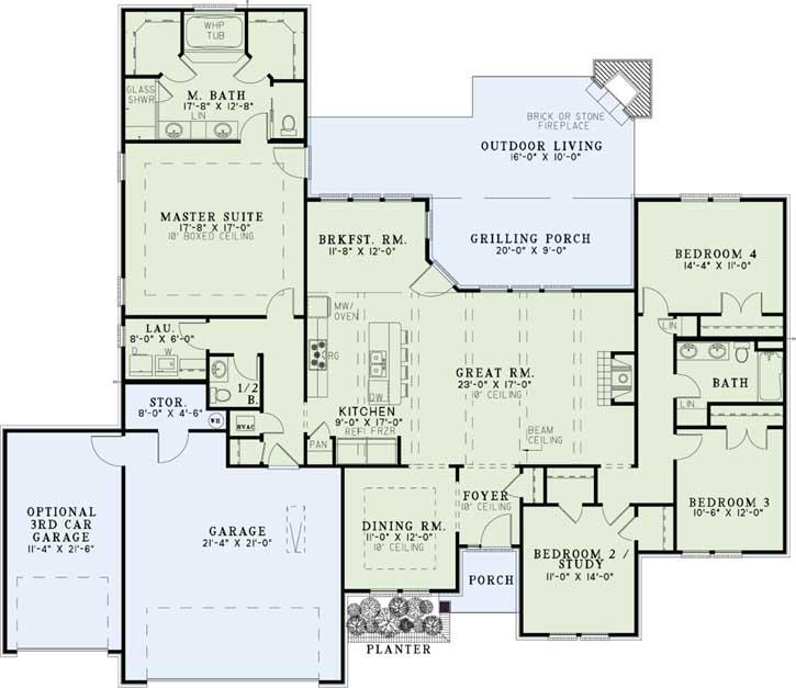 Main Floor Plan: 12-1244