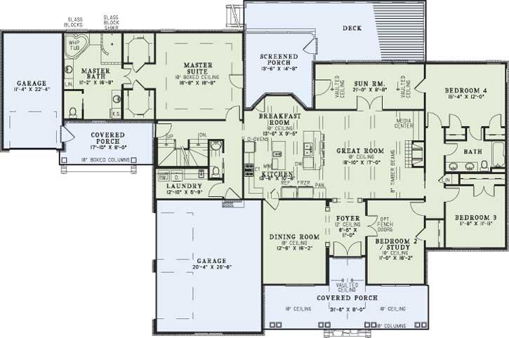 Main Floor Plan: 12-1255