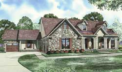 Southern Style Floor Plans Plan: 12-1255