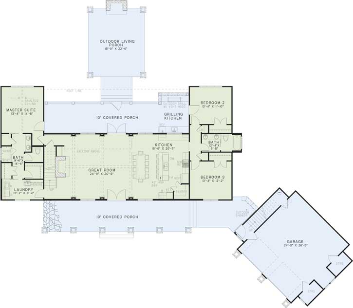 Main Floor Plan: 12-1256