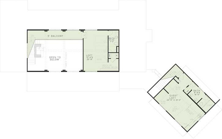 Upper/Second Floor Plan: 12-1256