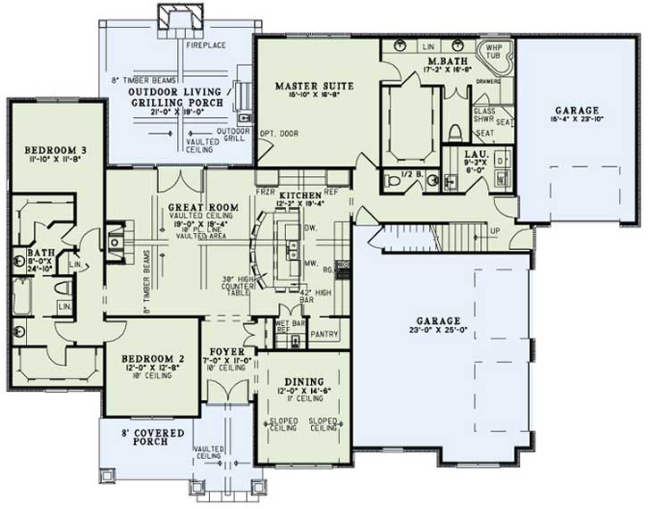 Main Floor Plan: 12-1271