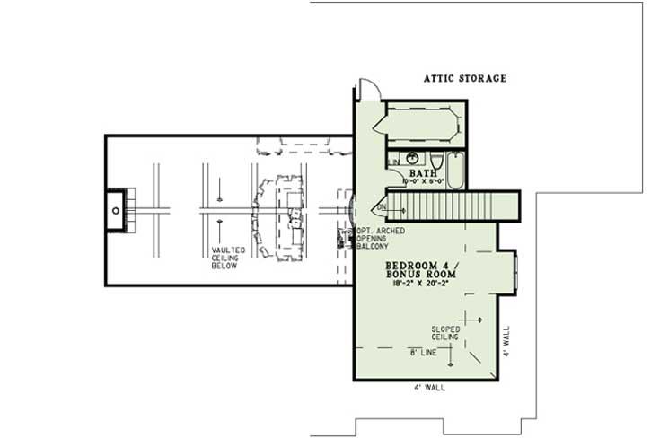 Upper/Second Floor Plan: 12-1271