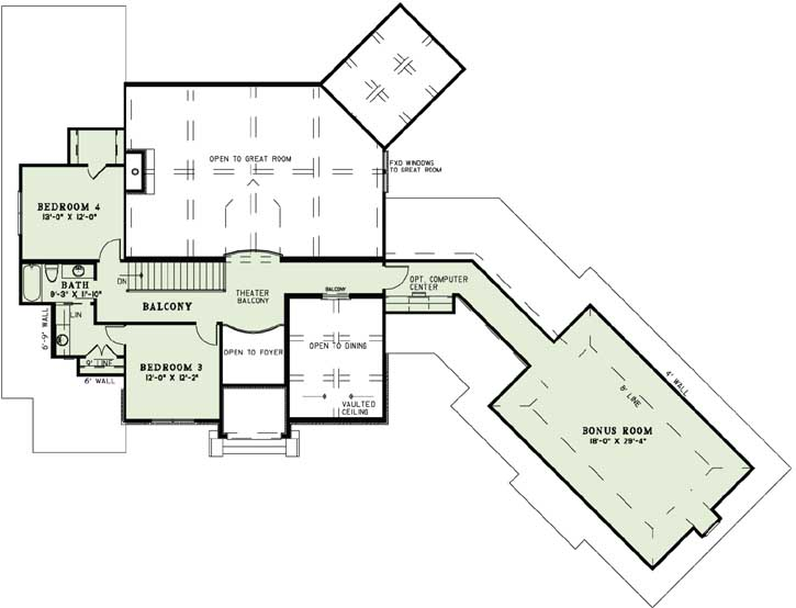 Upper/Second Floor Plan: 12-1289