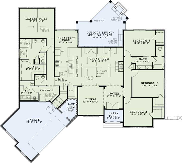 Main Floor Plan: 12-1293