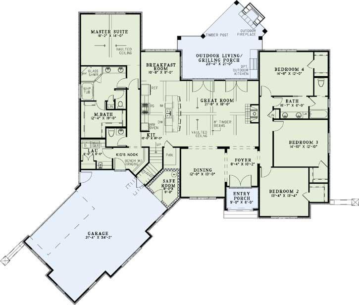 Main Floor Plan: 12-1294