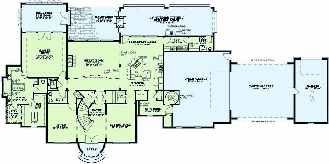 Main Floor Plan: 12-1300