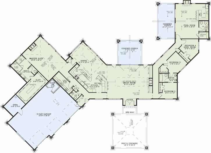 Main Floor Plan: 12-1305