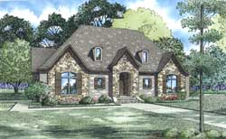 European Style Floor Plans Plan: 12-1309