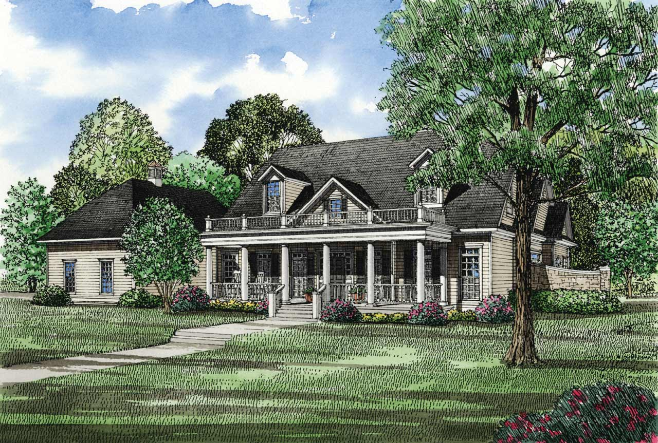 Southern Style Floor Plans Plan: 12-131